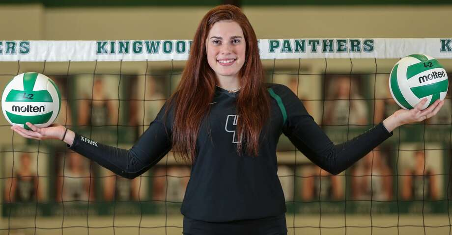 "Kingwood Park's Elizabeth ""Libby"" Overmyer is the All-Greater Houston Volleyball Player of the Year Tuesday, Jan. 8, 2019, in Kingwood. Photo: Steve Gonzales/Staff Photographer"