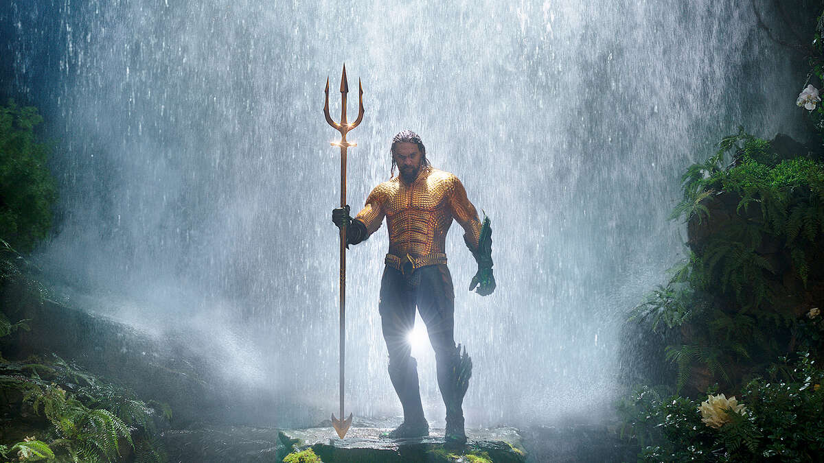 Aquaman isn't the only one getting wet when his film is shown in 4DX.