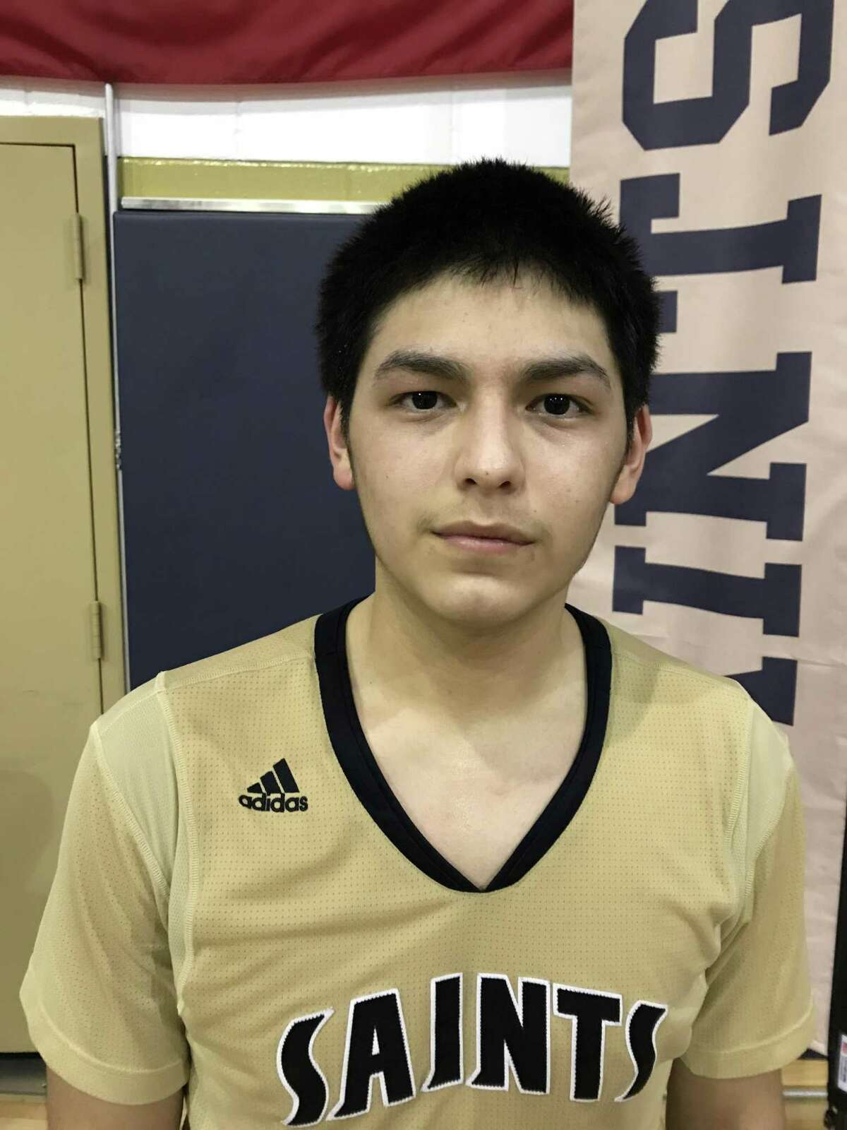 Jacobi Flores, the former San Jacinto Intermediate player, spoiled Pasadena-First Baptist Christian Academy's district opener Tuesday night by dropping in 34 points. The two teams meet two more times in district.
