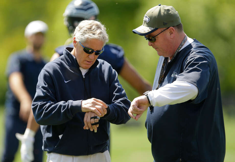 According to reports, Seahawks head strength and conditioning coach Chris Carlisle has been fired.  Photo: Ted S. Warren/Associated Press