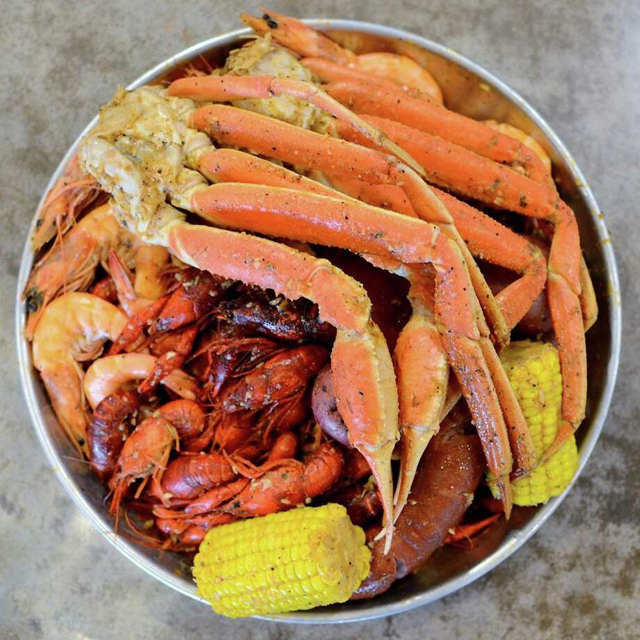 Making its first West Texas appearance will be Crab Station/Oyster Bar, a Dallas-based restaurant chain that features seafood and Cajun dishes. Photo: Crab Station/Oyster Bar