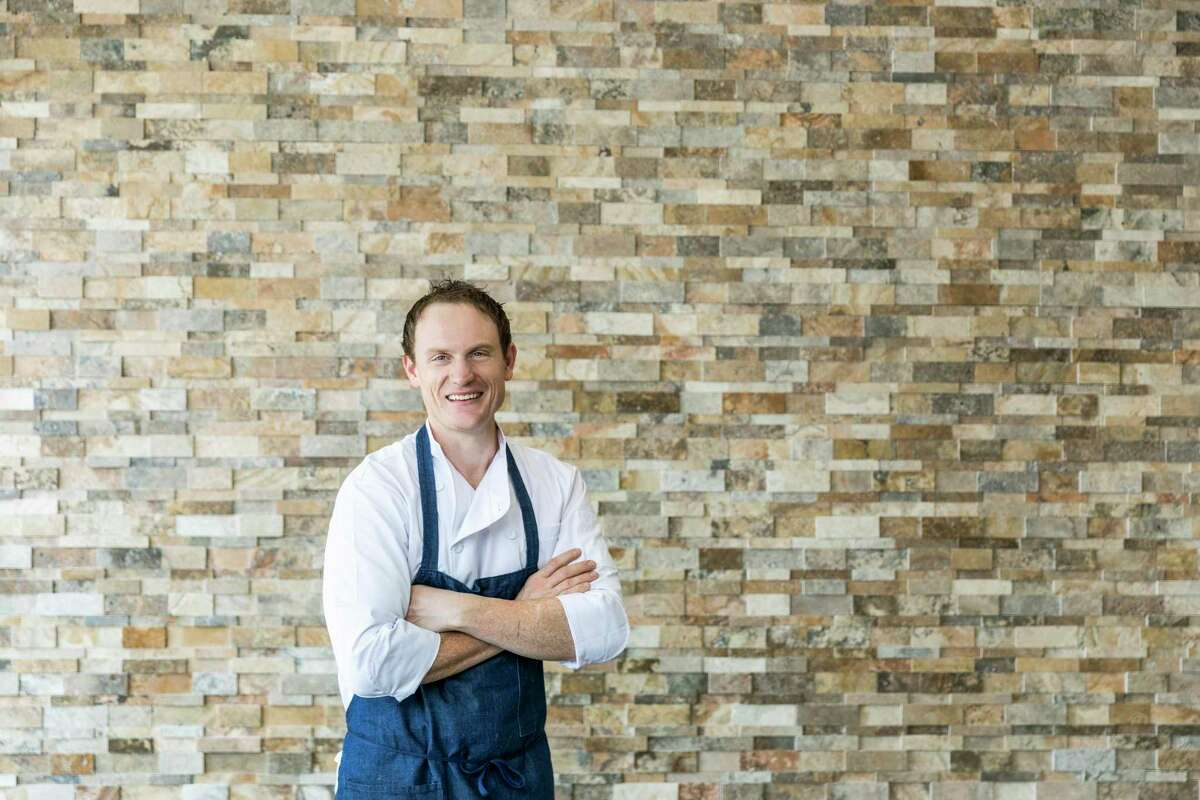 Chef Austin Simmons of Tris restaurant in The Woodlands will partner with chef John Tesar as part of the CollaborEIGHT dinner series. Simmons' next dinner is with chef John Tesar on Jan. 14.