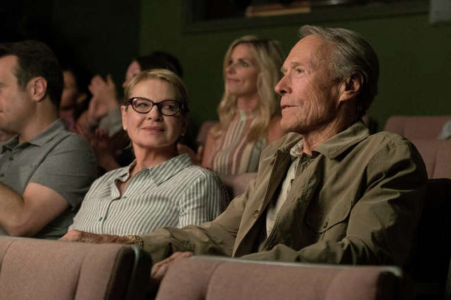 "This image released by Warner Bros. Pictures shows Dianne Wiest, left, and Clint Eastwood in a scene from ""The Mule."" Photo: Claire Folger/Warner Bros. Pictures Via AP"