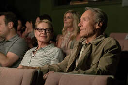 """This image released by Warner Bros. Pictures shows Dianne Wiest, left, and Clint Eastwood in a scene from """"The Mule."""""""