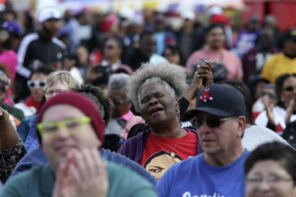 On Jan. 21, tens of thousands are expected to take part in the 2.75-mile Martin Luther King Jr. March, as seen in 2018.