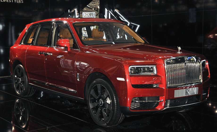 A Rolls Royce Cullinan is displayed during the Vienna Autoshow, as part of Vienna Holiday Fair on January 10, 2019 in Vienna, Austria. The Vienna Autoshow will be held from January 10-13.  (Photo by Manfred Schmid/Getty Images) Photo: Manfred Schmid/Getty Images