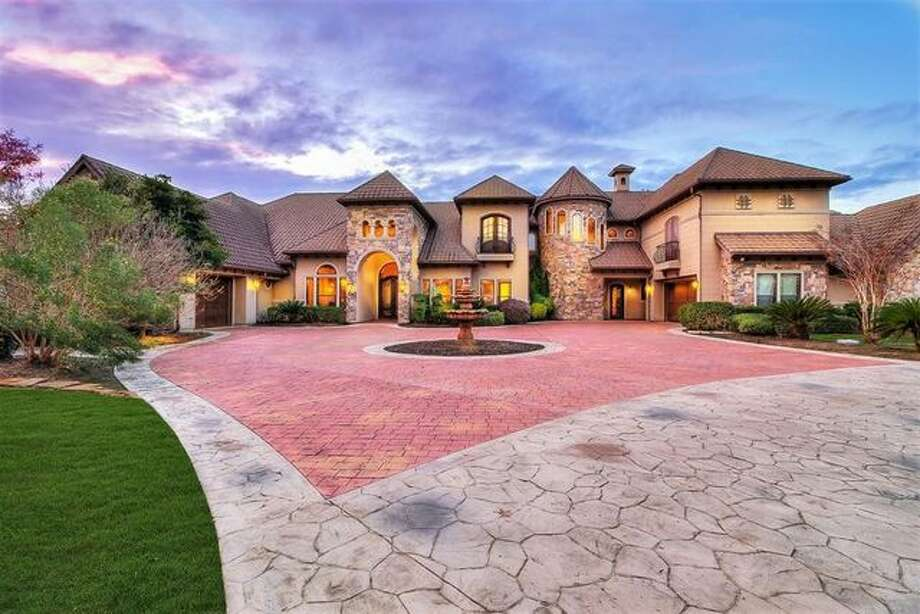 Quarterback Robert Griffin III has relisted his spectacular mansion in Conroe, Texas, for $2.6 million. It was on the market last summer for the same price. Photo: Realtor.com
