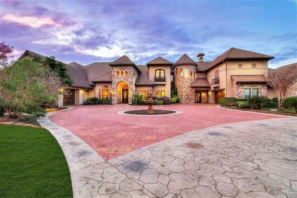 Quarterback Robert Griffin III has relisted his spectacular mansion in Conroe, Texas, for $2.6 million. It was on the market last summer for the same price.
