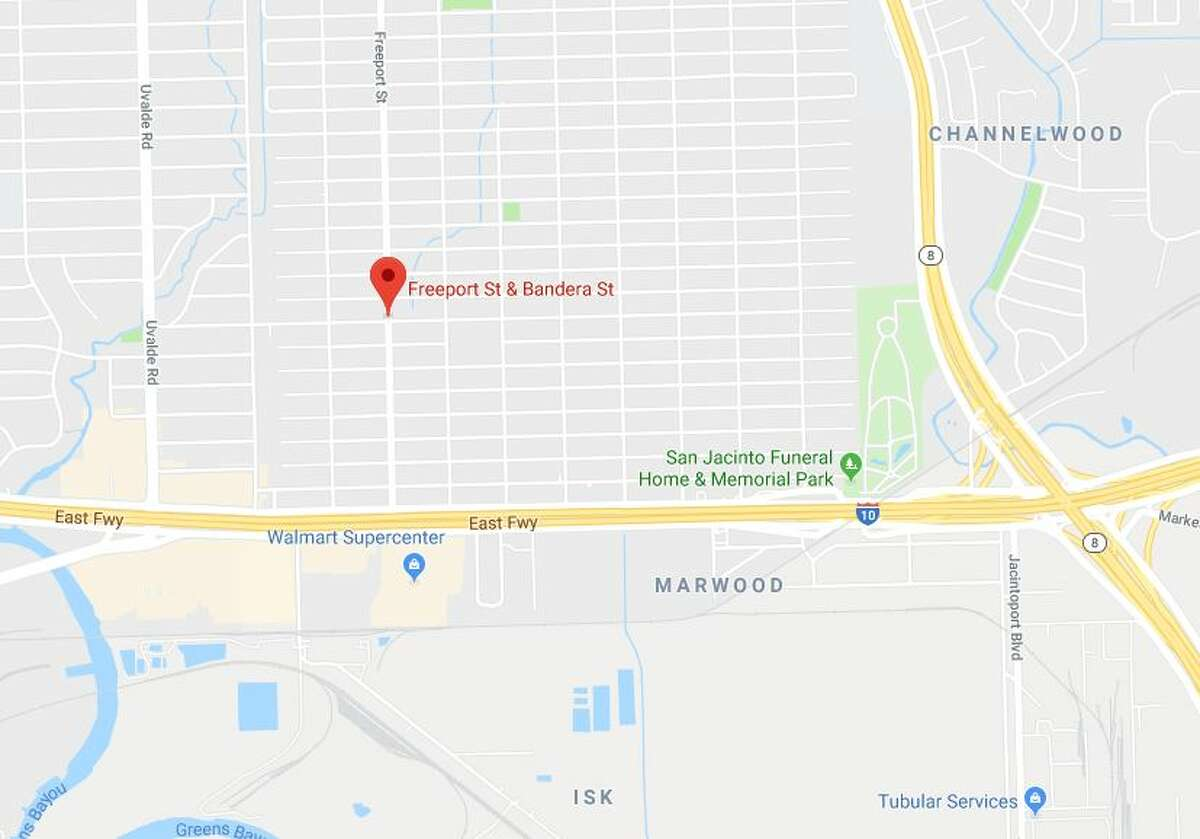 A pedestrian died in a crash at Freeport and Bandera on Thursday, Jan. 10, 2019.
