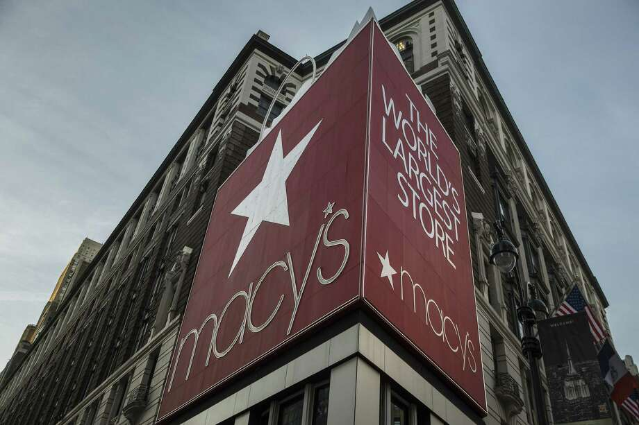 Macy's Inc. signage is displayed at a department store in New York. Photo: Bloomberg Photo By Victor J. Blue / © 2018 Bloomberg Finance LP