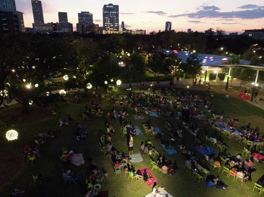 "Levy Park presents Family Movie Night sponsored by Texas Children's Hospital at 6 p.m. Friday, June 28, with ""Lilo and Stitch."" The movie starts at 8 p.m. Food and beverages are available for purchase. Photo: Courtesy Photo By Jay Ford"