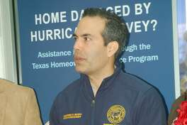 Commissioner George P. Bush met with local officials on Thursday morning to discuss the Texas General Land Office programs now available to citizens.