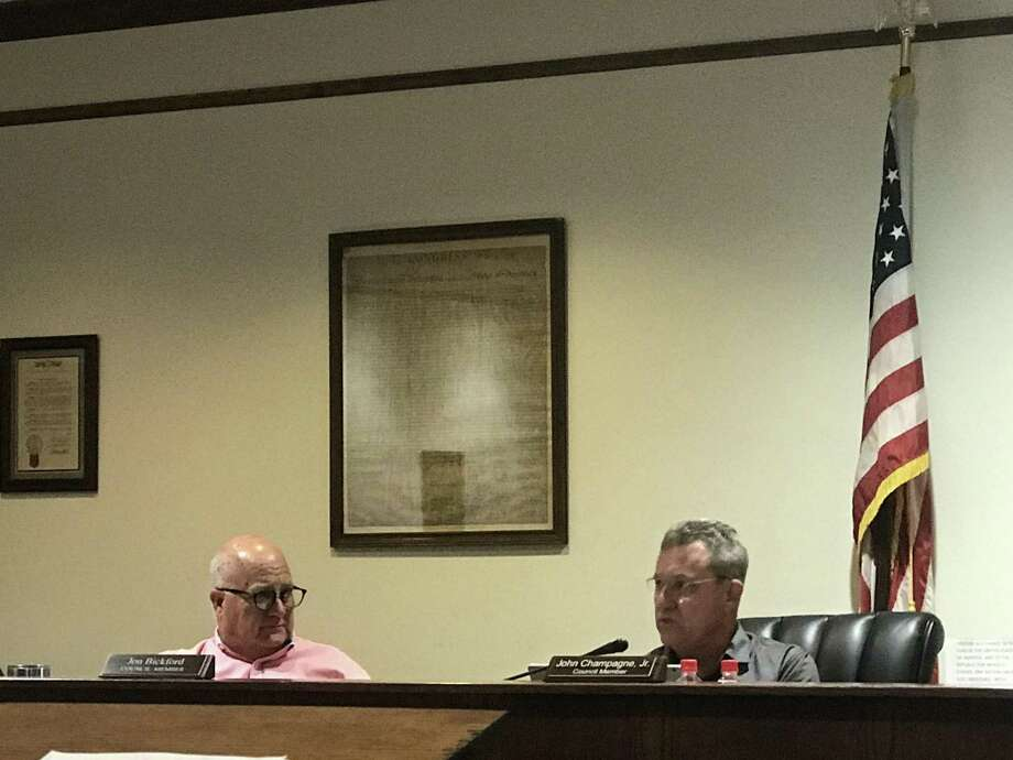 """Montgomery Councilman John Champagne, Jr. withdrew his request on Tuesday to partially rescind a new animal ordinance he believes to be """"intrusive, overreaching, and onerous"""" for the city to implement. Photo: Meagan Ellsworth / Meagan Ellsworth"""