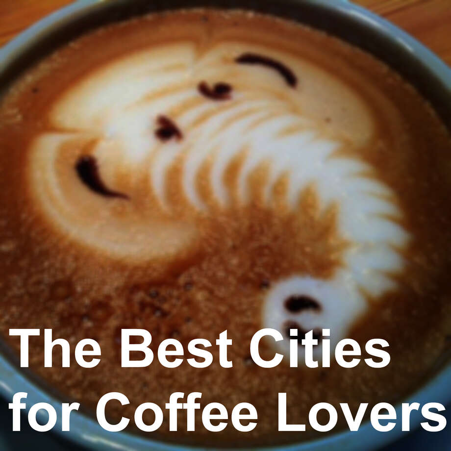 "Seattle isn't the ""best"" city for coffee, but it did crack the top 10. In fact, three Washington cities made it into the top 10, and one even beat the Emerald City. See where the cities ranked in the top 10 best cities for coffee -- and where some other Washington cities landed in the top 50. Photo: Yelp"