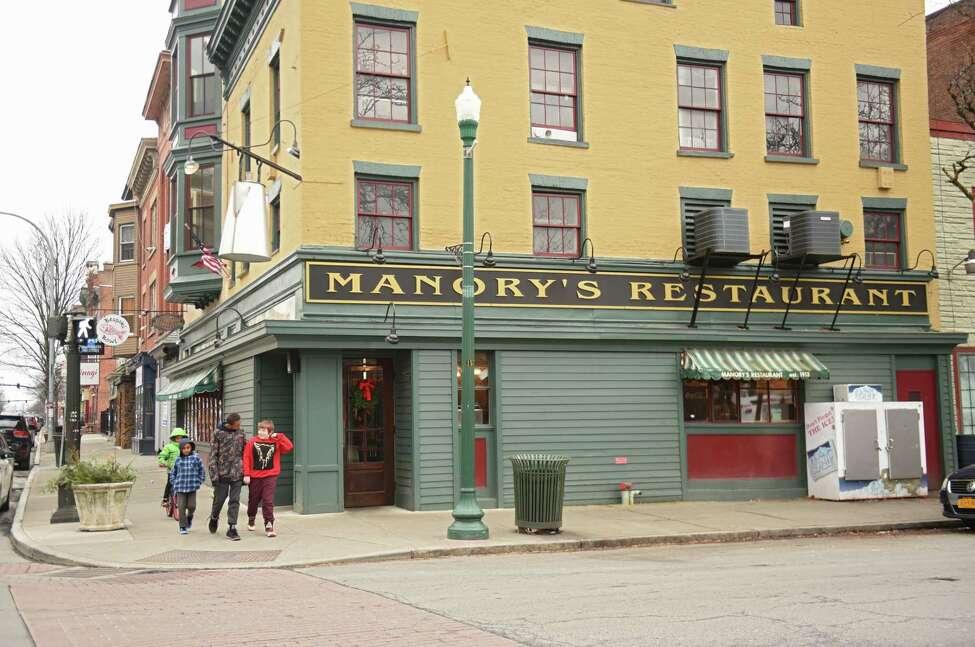 Exterior of Manory's on Monday, Dec. 31, 2018 in Troy, N.Y. (Lori Van Buren/Times Union)