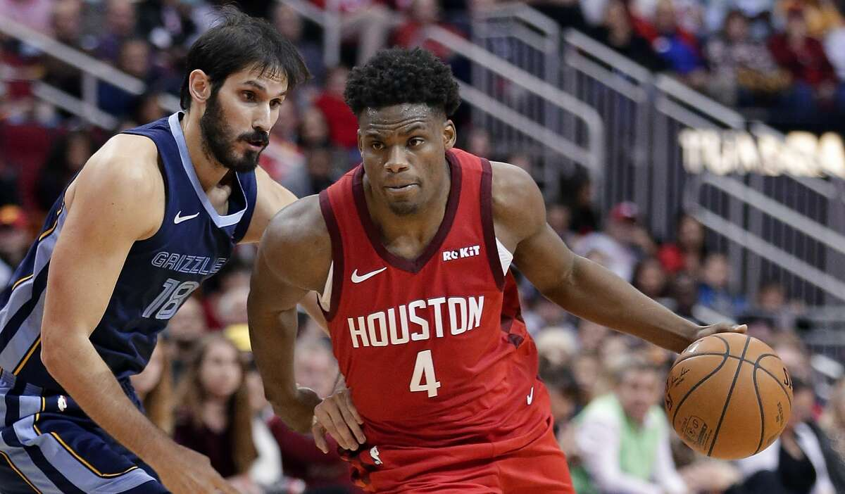 PHOTOS: Rockets vs. Bucks Houston Rockets forward Danuel House Jr. (4) drives around Memphis Grizzlies forward Omri Casspi (18) during the second half of an NBA basketball game Monday, Dec. 31, 2018, in Houston. (AP Photo/Michael Wyke) >>>See game action from the Rockets' game against the Bucks on Wednesday ...