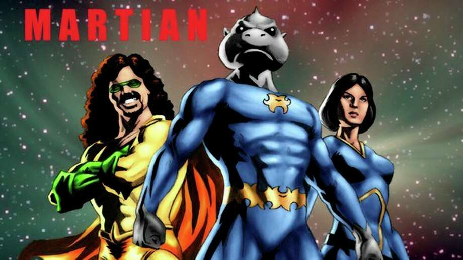 'Martian' is a CGI 3D animated version of Starks' award-winning motion comic book series.