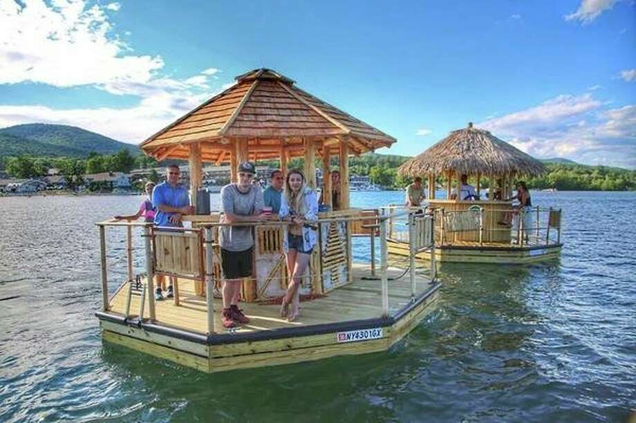 Jody Blaszczyk, formerly of Pigeon, and the daughter of Lori and Kent McKenzie, announced this week that she and he husband will be opening Aloha Tiki Tours at two Michigan locations. Blaszczyk is already the owner of Detroit Rolling Pub and Detroit Cycle Boat. (Courtesy Photo)