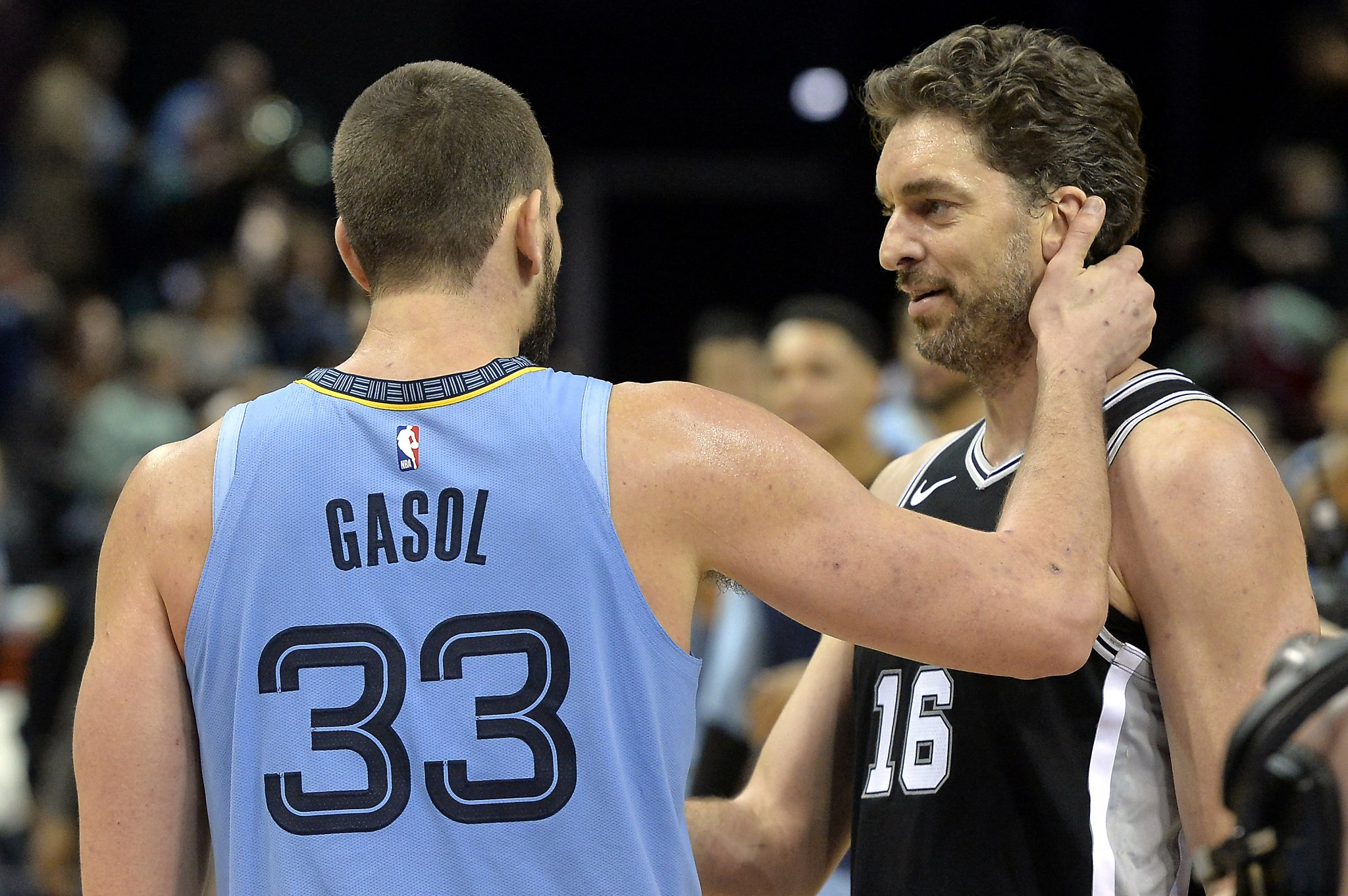 Spurs' Pau Gasol grateful Grizzlies traded his brother to a title contender