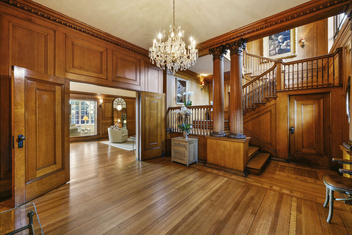 Built in 1893 as a summer home for a wealthy San Francisco family, this European-style villa at 1272 Caroline St. in Alameda is listed for $2.395 million.