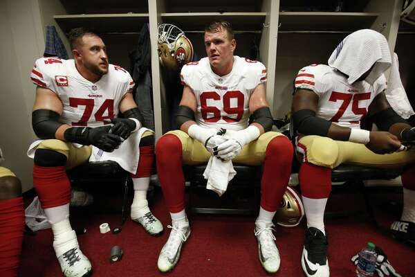 49ers Joe Staley and Mike McGlinchey are good — and good for each other