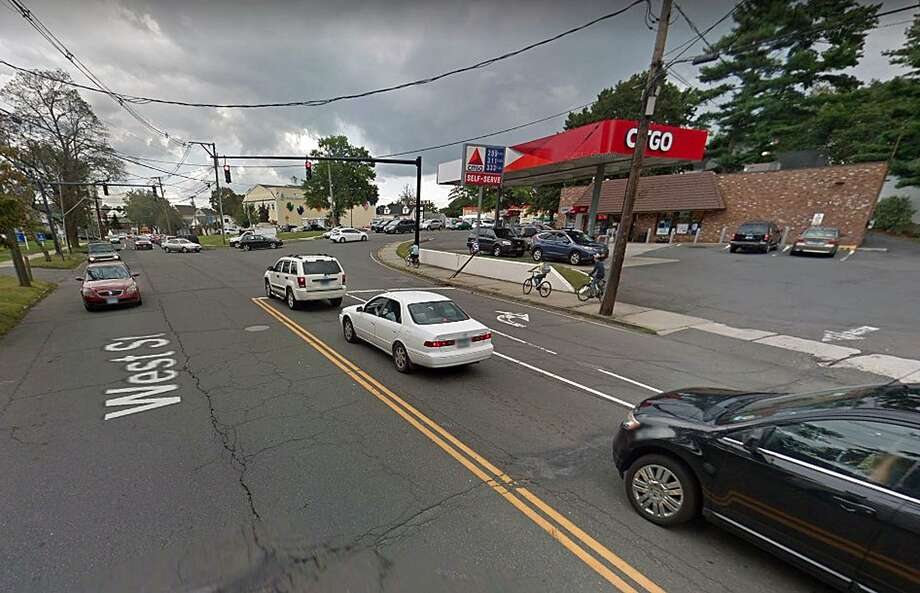 The Citgo station at the corner of West Street and Division Street in Danbury, Conn., was the site of a motor vehicle accident on Jan. 10, 2019. A Google maps screenshot shows the location of the station. Photo: Contributed Photo / Google Maps / Contributed Photo / Connecticut Post Contributed