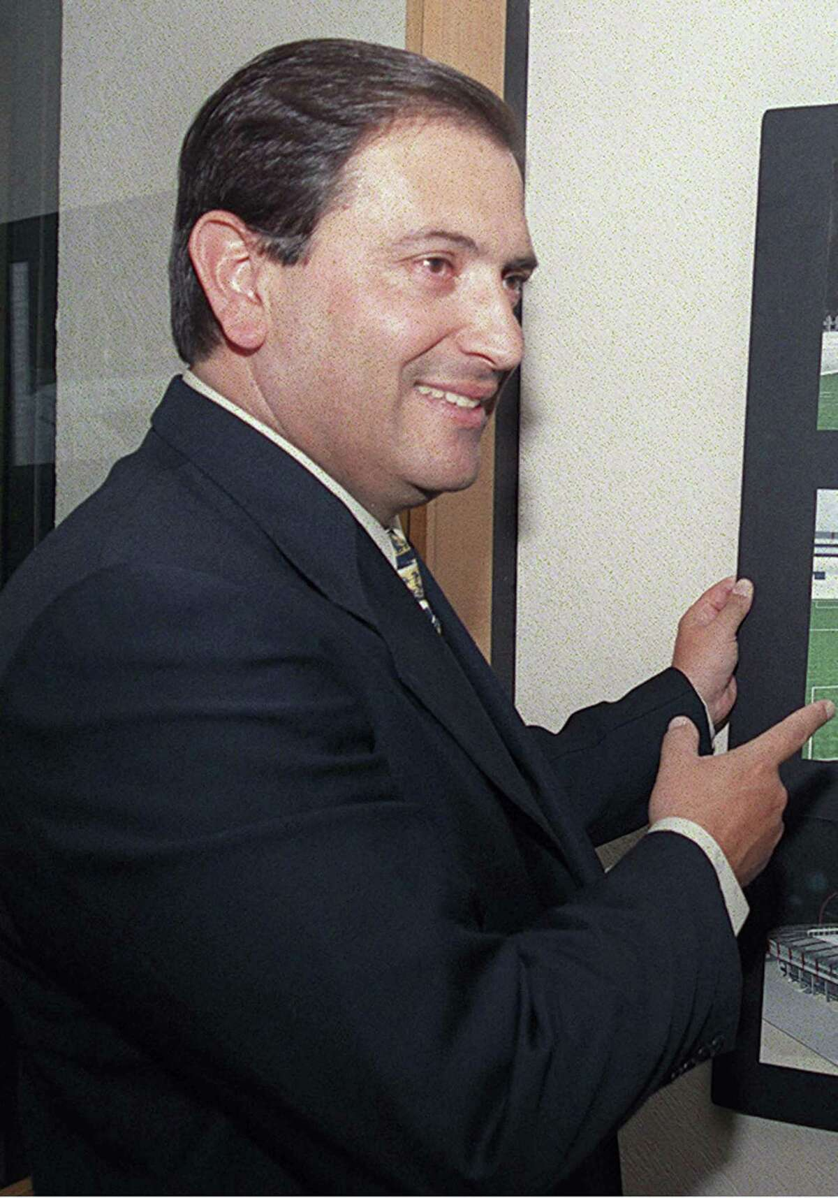 Luis Armando Reynoso Femat, the governor of the Mexican state of Aguascalientes from 2004 to 2010, was sentenced in 2017 to more than six years in prison for embezzlement. The U.S. government is attempting to seize millions of dollars worth of real estate in the San Antonio area it says was bought with embezzled funds in his son's name.