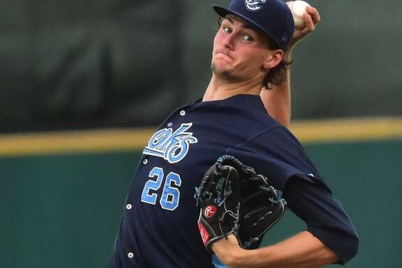 A drug suspension and two minor injuries limited Forrest Whitley to 261/3 innings with Class AA Corpus Christi last year, but the highly touted prospect totaled 36 strikeouts in 26 innings in the Arizona Fall League.
