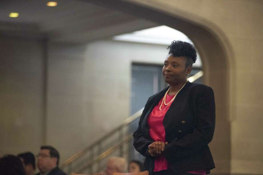 After sifting through 13 candidates, the City Council did not select military veteran and motivational speaker Jada Sullivan on Thursday, January 10th, 2019. Photo: Carlos Javier Sanchez | Contributor, Photojournalist / Carlos Javier Sanchez | Pixelreflexmedia.com