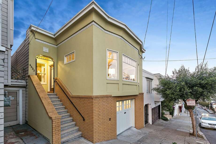 4422 17th St. in Corona Heights is a three-bedroom built in the 1920s available for $1.85 million. Photo: Open Homes Photography