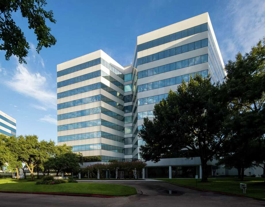 UniversalPegasus International, part of Huntington Ingalls Industries, has renewed its lease for 113,114 square feet for its corporate headquarters at 4848 Loop Central Drive. Photo: Transwestern / Slyworks Photography