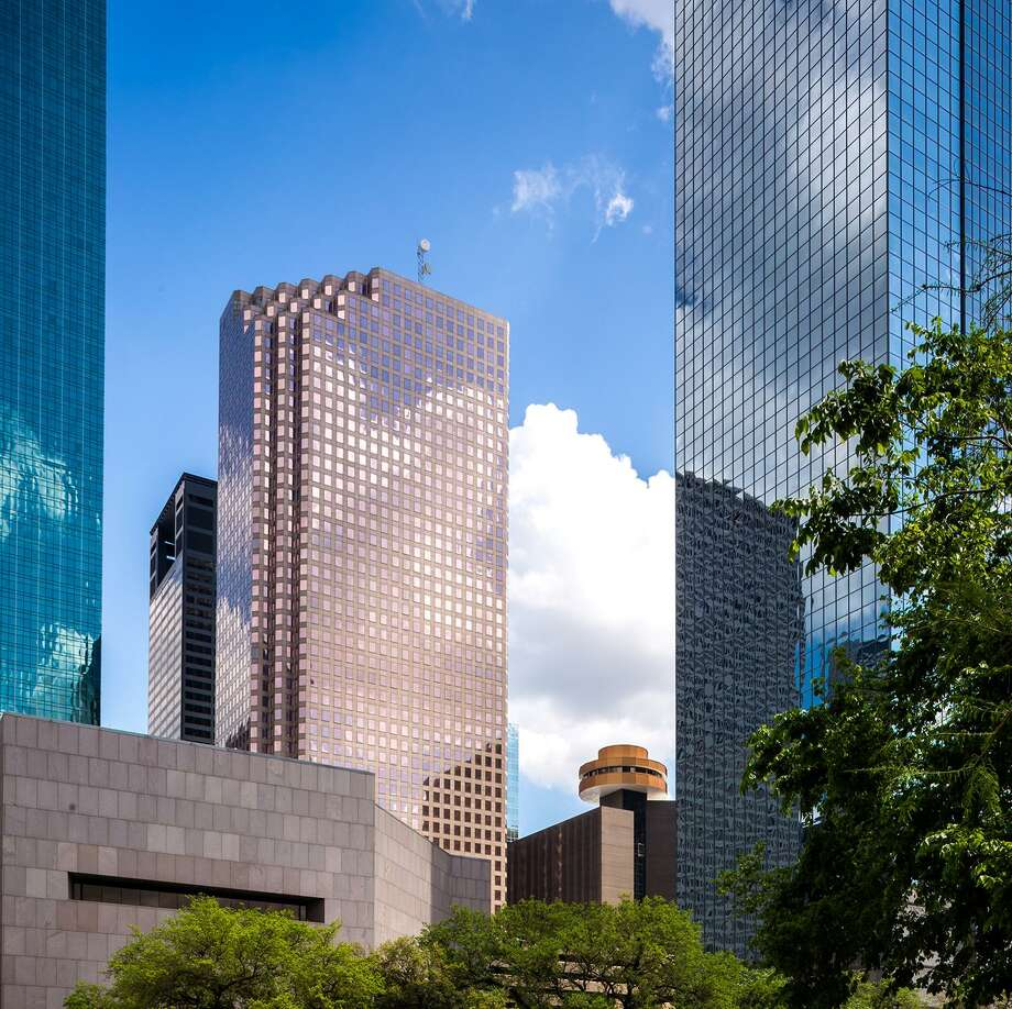 The King & Spalding law firm has been a tenant at downtown's 1100 Louisiana since 1995. The firm has renewed its lease in the 1.3 million-square-foot building. Photo: Colvill Office Properties / Slyworks Photography