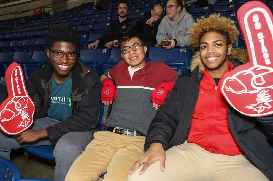 The Fairfield University Stags took on St. Peter's University on the basketball court at Webster Bank Arena in Bridgeport on January 10, 2019. Were you SEEN in the stands? Photo: Dawn Kubie