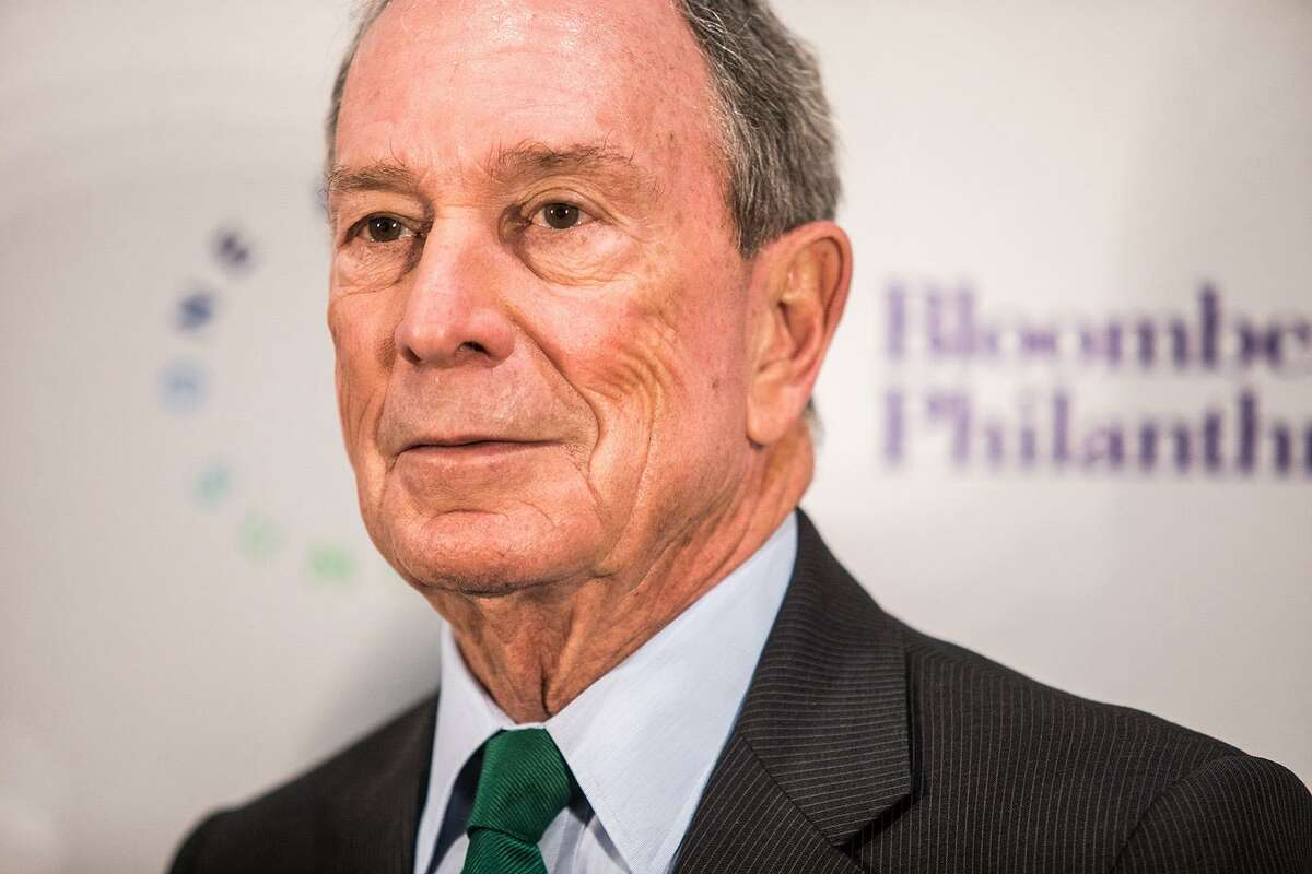 Former New York mayor Michael Bloomberg attends dinner on the eve of the One Planet Summit in December 2017 in Paris, France. Bloomberg is considering a 2020 presidential run. Friday, he will be in the Alamo City to announce a major award worth $2.5 million to San Antonio to help implement its ambitious plan to address climate change.