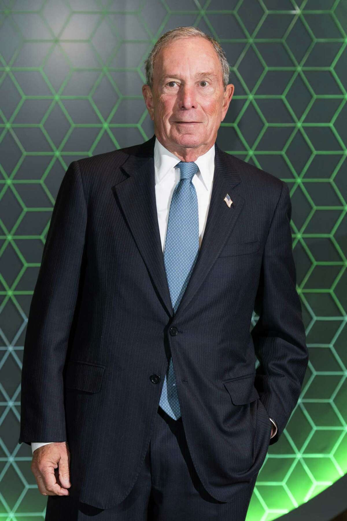 LONDON, ENGLAND - DECEMBER 11: Michael Bloomberg attends the Vanity Fair x Bloomberg climate change gala dinner at Bloomberg London on December 11, 2018 in London, England. (Photo by Jeff Spicer/Getty Images)