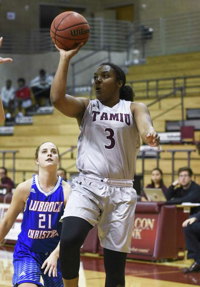 Freshman guard Troi Lucas scored a career-high 16 points in TAMIU's 91-43 loss in the Heartland Conference tournament to No. 25 Lubbock Christian on Thursday. Photo: Danny Zaragoza /Laredo Morning Times File