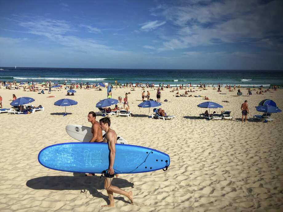 When fares fall below $700 between SFO and Sydney, Australia, it's time to jet down to Bondi Beach for some summer fun! Photo: Chris McGinnis