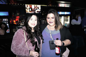 Alexia Alvarado and Angelica Flores at Average Joe's
