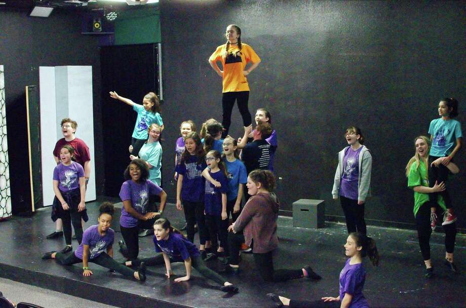 """Young performers from Friendswood's Purple Box Theater will perform songs from """"Disney's Peter Pan Jr."""" this month at the at the international Junior Theatre Festival in Atlanta, Ga. Their 15-minute segment will include such songs as """"Never Smile at a Crocodile"""" and """"You Can Fly."""" Photo: Kirk Sides / Staff Photographer / © 2018 Kirk Sides / Houston Chronicle"""