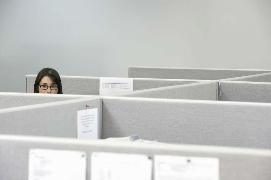 An insecure introvert wants to make friends with her coworkers but is anxious about making a move.  Photo: Noel Hendrickson/Getty Images