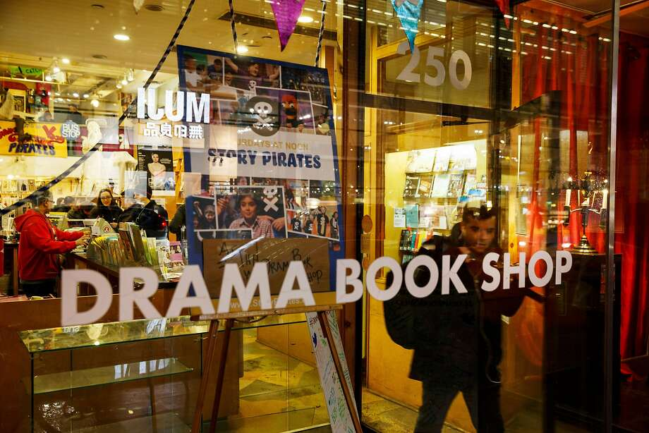 "Lin-Manuel Miranda and three of his ""Hamilton"" collaborators have purchased the Drama Book Shop, a century-old theater district purveyor of scripts, sheet music and other stage-related reading material. Photo: Richard Perry / New York Times 2016"