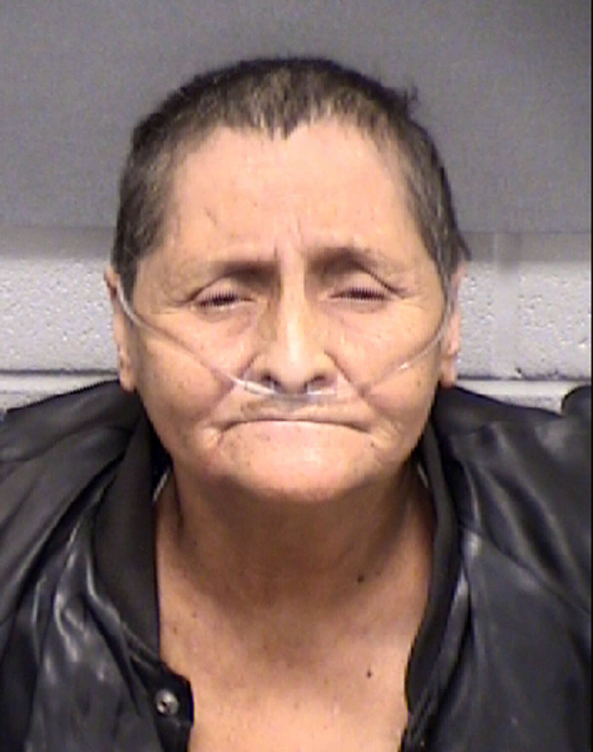 Arrest mug shot of Beatrice Sampayo, grandmother of King Jay Davila.