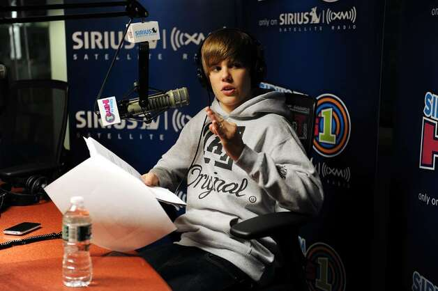 NEW YORK - MARCH 11:  Justin Bieber visits SIRIUS XM Studio on March 11, 2010 in New York, New York.  (Photo by Andrew H. Walker/Getty Images) *** Local Caption *** Justin Bieber Photo: Andrew H. Walker, Getty Images / 2010 Getty Images