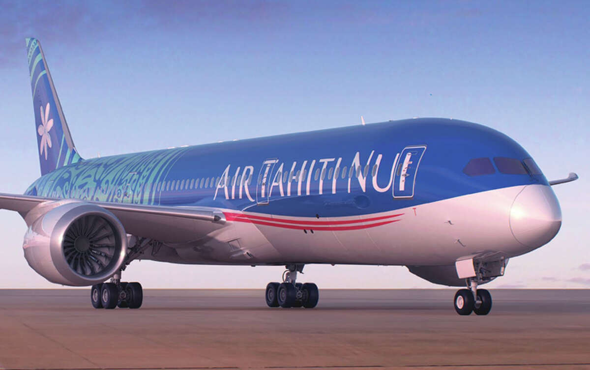 Air Tahiti Nui's brand new 787-9 is flying from LAX to Papeete.