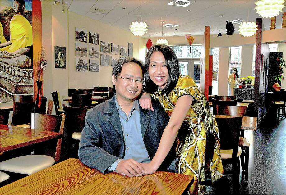 Cho Ngo and her husband Lam Nguyen are co-owners of Lan Chi's Vietnamese Restaurant at 505 Main St., Middletown. Photo: File Photo / TheMiddletownPress