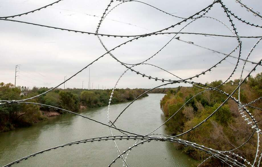 In this file photo, the Rio Bravo river is pictured from the Reynosa-Hidalgo International bridge. Photo: JULIO CESAR AGUILAR, AFP/Getty Images