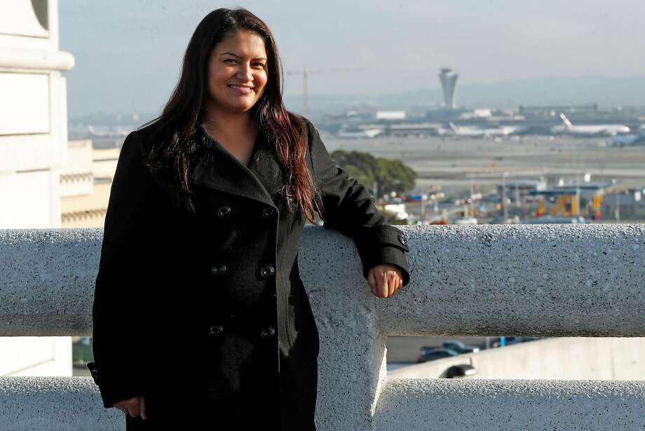 SF Parking's Patty Rodriguez got a loan from Working Solutions, which works with early startups. Photo: Photos By Scott Strazzante / The Chronicle
