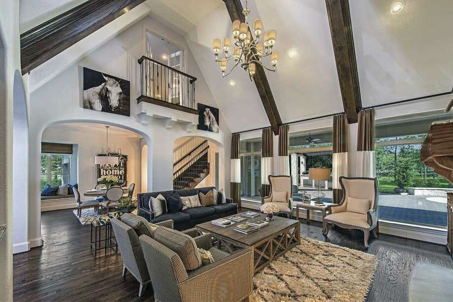 Final opportunities to own a Huntington home in Woodforest include the the model home on a 1-acre golf course lot with vaulted ceilings and the spacious one-story home that will be available in March.