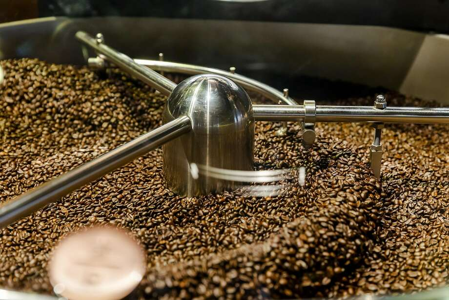 Coffee beans are stirred in a roaster during a media preview day at the Starbucks Corp. Reserve Roastery in New York, U.S., on Tuesday, Dec. 11, 2018. With the Reserve Roastery concept, Starbucks aims to recapture some of its fading premium sheen as consumers gravitate towards more upscale lines like Blue Bottle. Photographer: Mark Abramson/Bloomberg Photo: Mark Abramson / Bloomberg