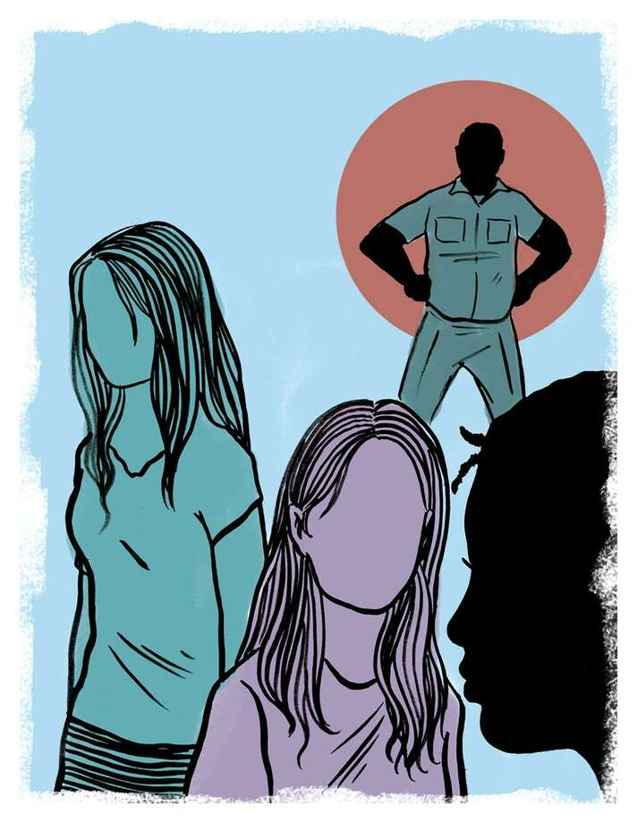 This artwork by Mark Weber relates to sex trafficking. Photo: Mark Weber